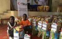 TİKA'dan Gambiyalı İhtiyaç Sahiplerine Ramazan Yardımı