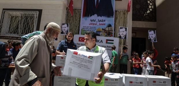 TİKA'dan Gazze'deki İhtiyaç Sahibi Ailelere Gıda Desteği - 1