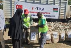 TİKA'dan Kenya'da İhtiyaç Sahibi Ailelere Gıda Yardımı