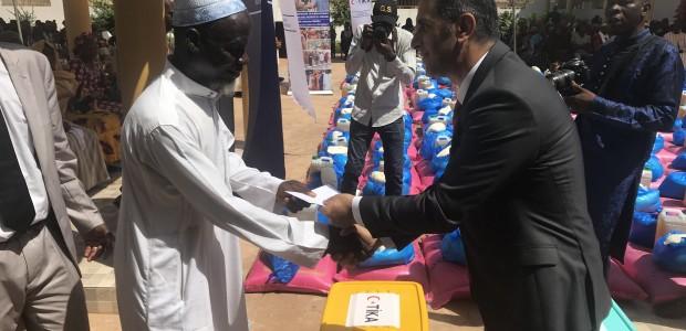 TİKA'dan Mali'de İhtiyaç Sahibi 500 Aileye Gıda Yardımı - 1