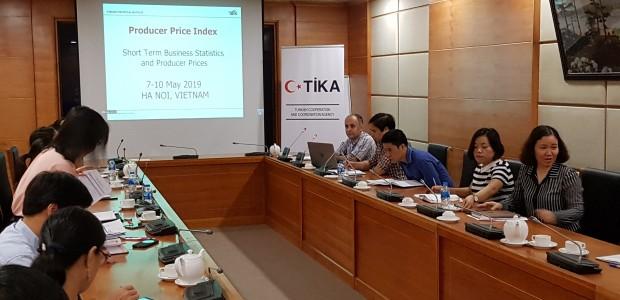 TİKA'dan Vietnam Genel İstatistik Ofisi'ne Eğitim Desteği - 1