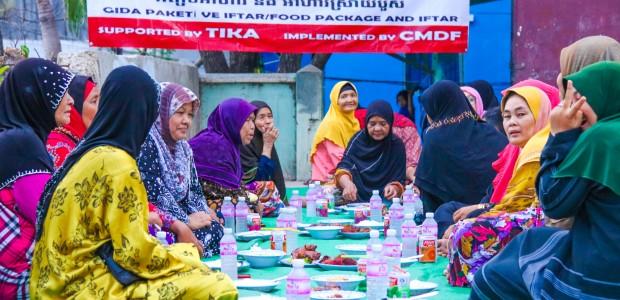 TİKA'dan Kamboçya'da Ramazan Programı - 6