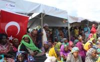 TİKA'dan Kamerun'da Mültecilere Gıda Yardımı