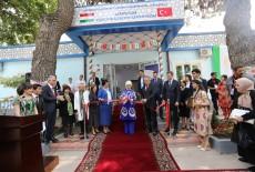 السيدة أمينة أردوغان تفتتح مركز تأهيل المعاقيين في طاجيكستان