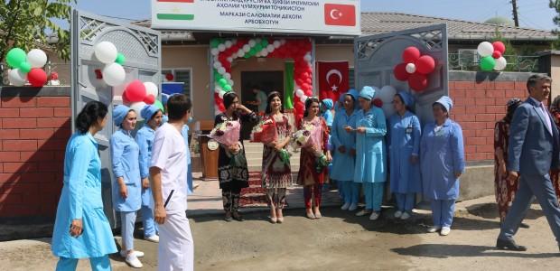 TİKA Provides Health Support to Tajikistan - 1