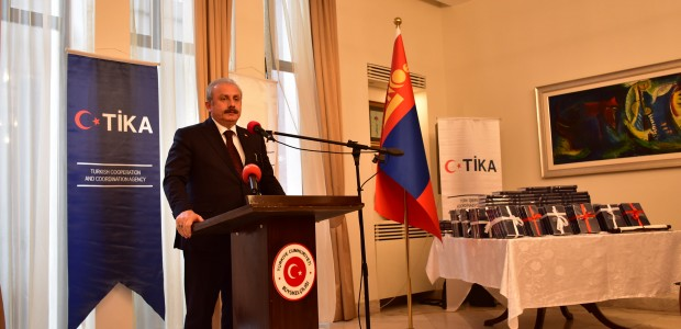 The Speaker of the Grand National Assembly of Turkey (TBMM) Mustafa Şentop Initiates TİKA Projects in Mongolia - 5