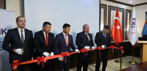 The Speaker of the Grand National Assembly of Turkey (TBMM) Mustafa Şentop Initiates TİKA Projects in Mongolia - 3