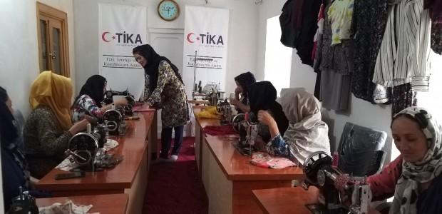 TİKA'dan Afganistan'da Kadınlara Meslek Eğitimi - 3