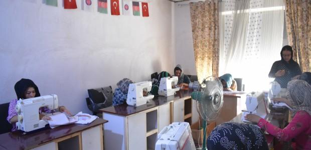 TİKA'dan Afganistan'da Kadınlara Meslek Eğitimi - 4