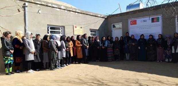 TİKA'dan Afganistan'da Kadınlara Meslek Eğitimi - 5