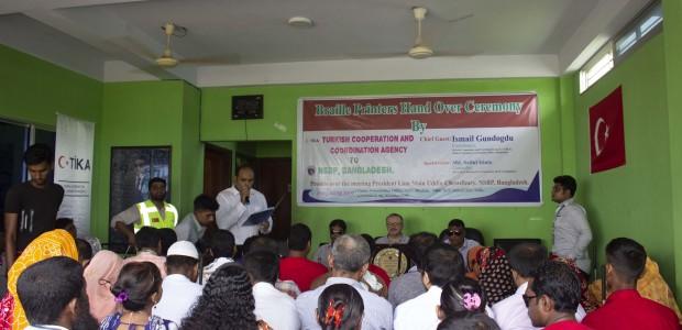 TİKA'dan Bangladeş'te Engellilere Destek  - 1