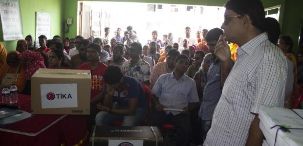 TİKA'dan Bangladeş'te Engellilere Destek  - 2