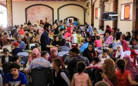 """""""تيكا"""" التركية توزع لحوم الأضاحي لـ 1500 عائلة مصرية"""