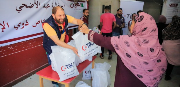 TİKA Distributes Meat to Disabled Individuals in Egypt on Eid al Adha - 2