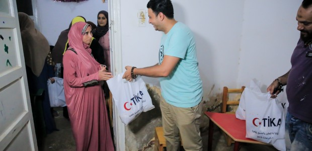 TİKA Distributes Meat to Disabled Individuals in Egypt on Eid al Adha - 3