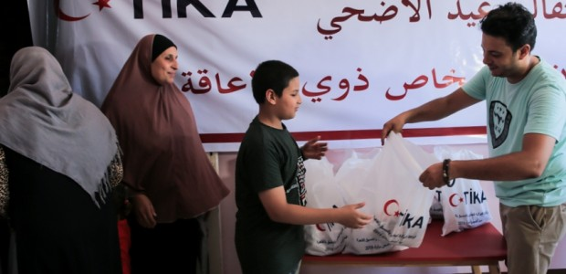 TİKA Distributes Meat to Disabled Individuals in Egypt on Eid al Adha - 4