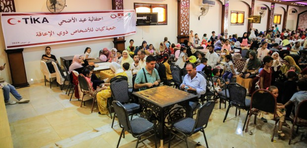 TİKA Distributes Meat to Disabled Individuals in Egypt on Eid al Adha - 5