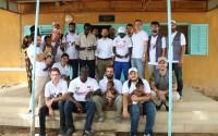 متطوعي تيكا يدخلون الفرحة على قلوب الأيتام في السنغال
