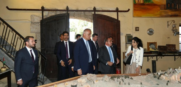 Minister of Culture and Tourism Mehmet Nuri Ersoy Visited Jordan - 2