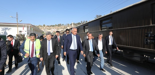 Minister of Culture and Tourism Mehmet Nuri Ersoy Visited Jordan - 5