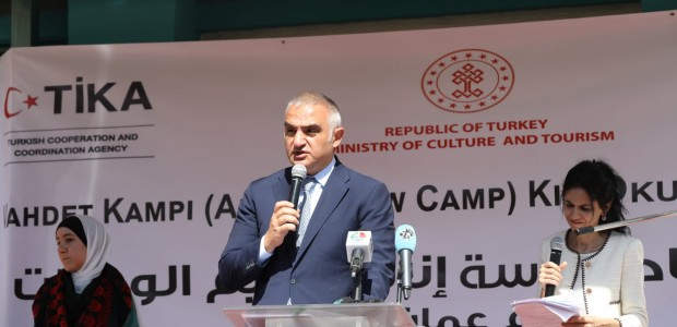 Minister of Culture and Tourism Mehmet Nuri Ersoy Visited Jordan - 9