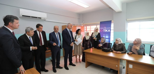 Minister of Culture and Tourism Mehmet Nuri Ersoy Visited Jordan - 12