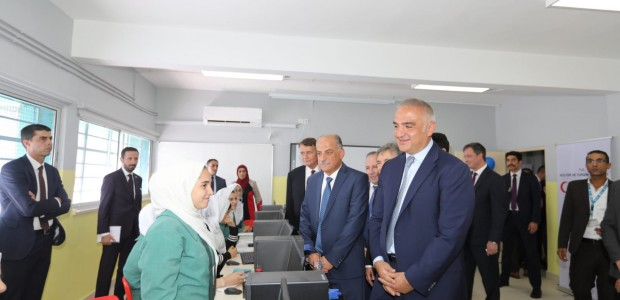 Minister of Culture and Tourism Mehmet Nuri Ersoy Visited Jordan - 13