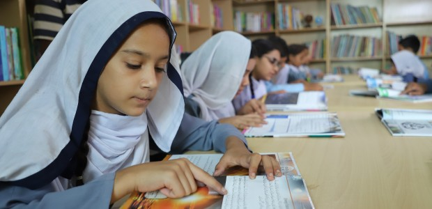 TİKA Opened a Children's Library with 5000 Books in Pakistan - 6