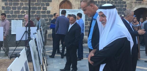 """Ürdün'de """"Belgelerle Tarihi Hicaz Demiryolu"""" Sergisi Açıldı - 1"""