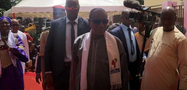 رئيس جمهورية غينيا يفتتح مشروع تيكا التركية في غينيا - 2