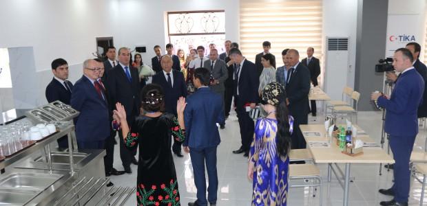 تيكا التركية تدعم البنية التحتية التعليمية في طاجيكستان - 3