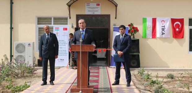 تيكا التركية تدعم البنية التحتية التعليمية في طاجيكستان - 5