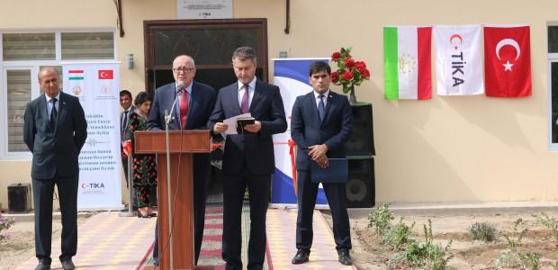تيكا التركية تدعم البنية التحتية التعليمية في طاجيكستان - 6