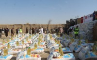 TİKA Provides Food Aid to War Stricken Families in Afghanistan