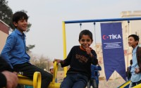 TİKA Builds a Playground for Afghan Children