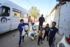 TİKA Provides Assistance 1100 Families Affected by the Raids on Gaza