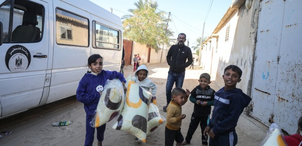 TİKA Provides Assistance 1100 Families Affected by the Raids on Gaza - 1