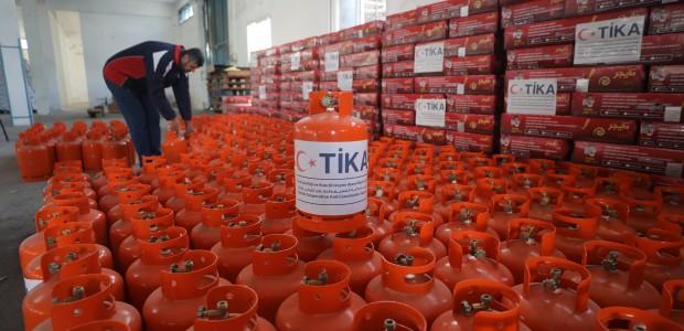 """""""تيكا"""" التركية توزع مساعدات إغاثية على المتضررين في غزة - 2"""