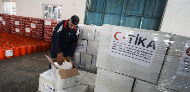 TİKA Provides Assistance 1100 Families Affected by the Raids on Gaza - 4