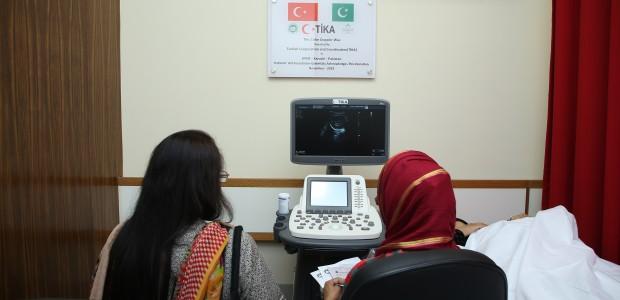 """""""تيكا"""" التركية تفتتح قسما """"للمسح الصوتي"""" في أكبر مستشفى بباكستان - 1"""