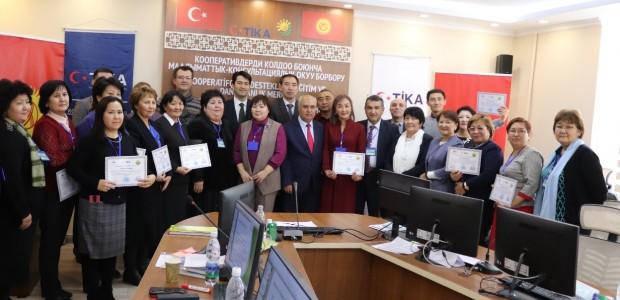 TİKA'dan Kırgız Kooperatifçiliğine Destek - 1
