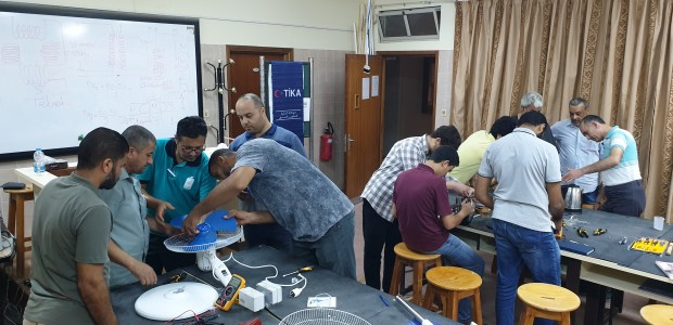 TİKA Provides Vocational Training to Libyan Experts - 1