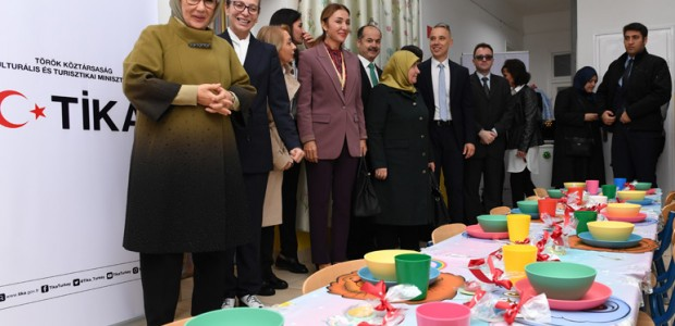 First Lady Emine Erdoğan inaugurates Rainbow Kindergarten in Hungary - 3