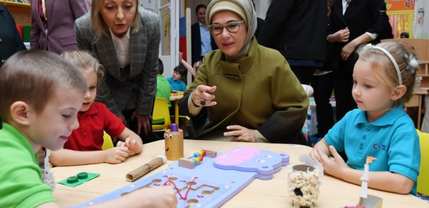 First Lady Emine Erdoğan inaugurates Rainbow Kindergarten in Hungary - 2