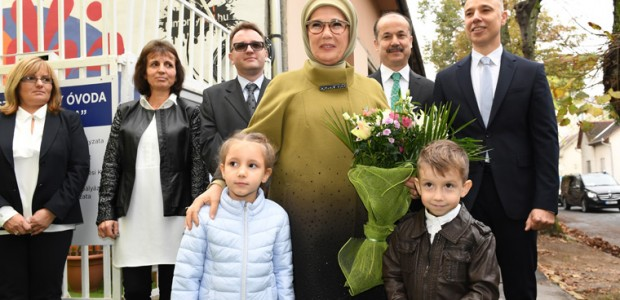 First Lady Emine Erdoğan inaugurates Rainbow Kindergarten in Hungary - 4