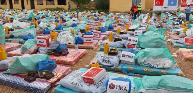 تيكا التركية تمد يد العون الى المتضررين من السيول في الصومال - 1