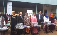 """""""تيكا"""" التركية توزع مكائن خياطة في أوغندا"""