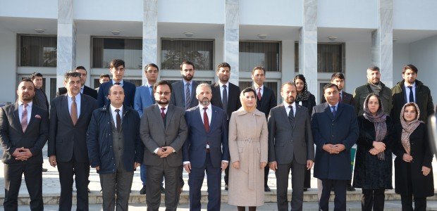 TİKA Renovated the Infrastructure of the Ministry of Foreign Affairs of Afghanistan - 4
