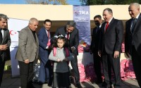 TİKA'dan Irak'taki 15 Türkmen Okuluna Kırtasiye Yardımı
