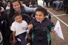 Ekvator'un Tarihi ve Kültürel Merkezi Cuenca'da Engelli Eğitim Merkezine Destek